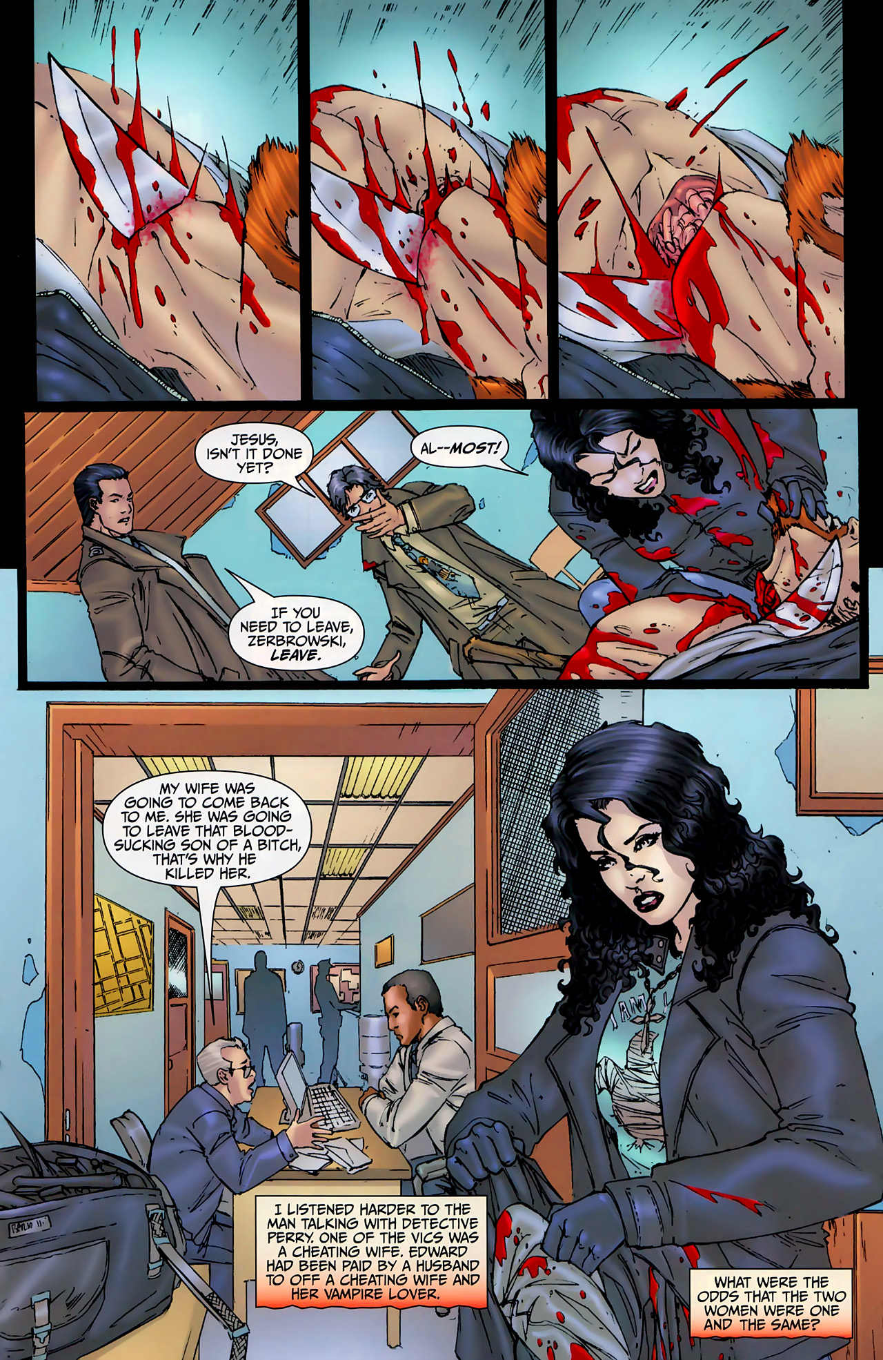 Read online Anita Blake, Vampire Hunter: The First Death comic -  Issue #2 - 24