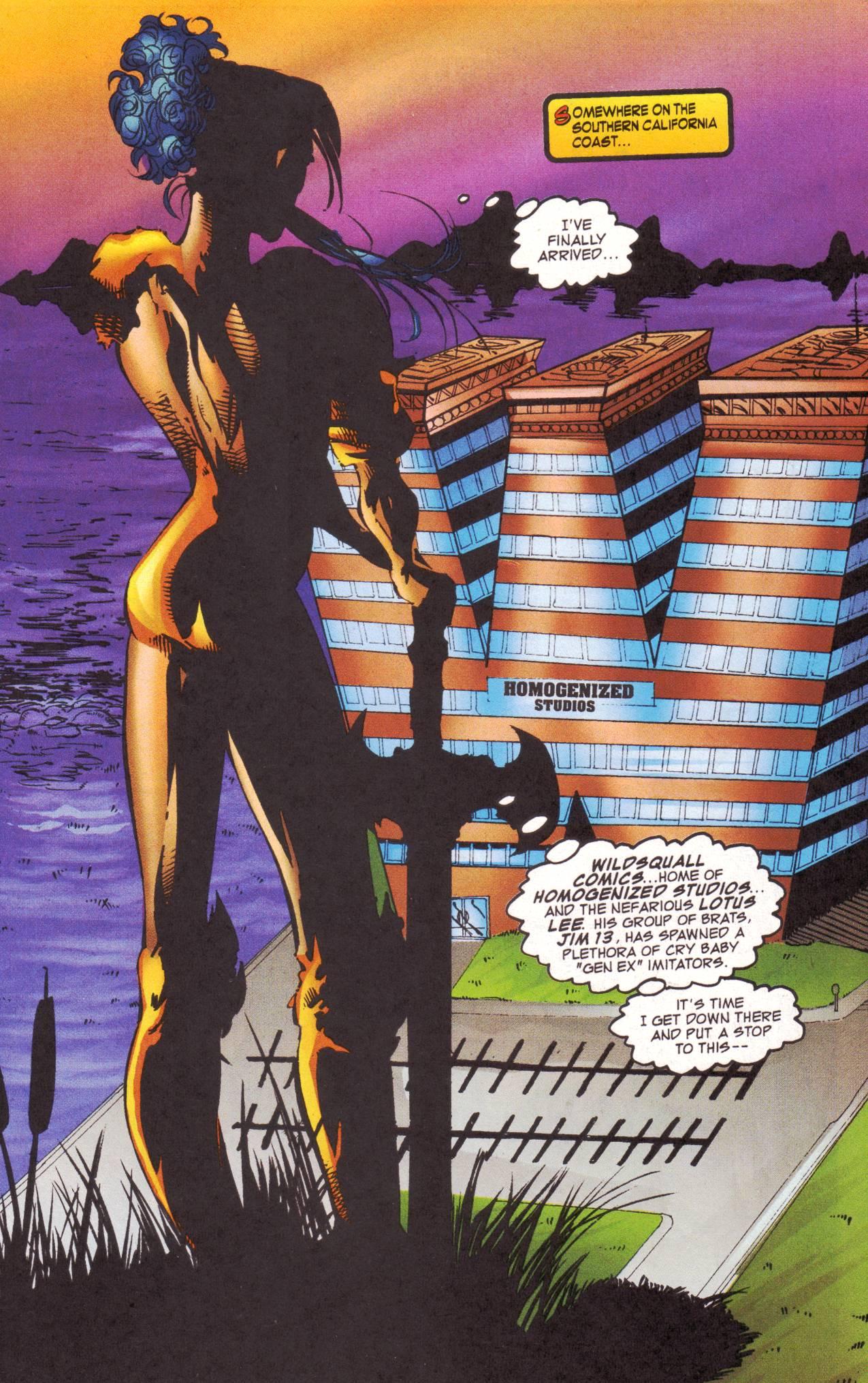 Read online Avengeblade comic -  Issue #2 - 3