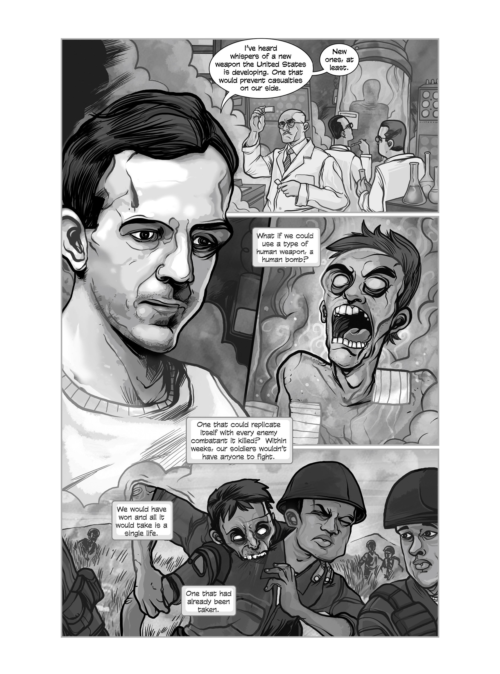 Read online FUBAR comic -  Issue #3 - 316