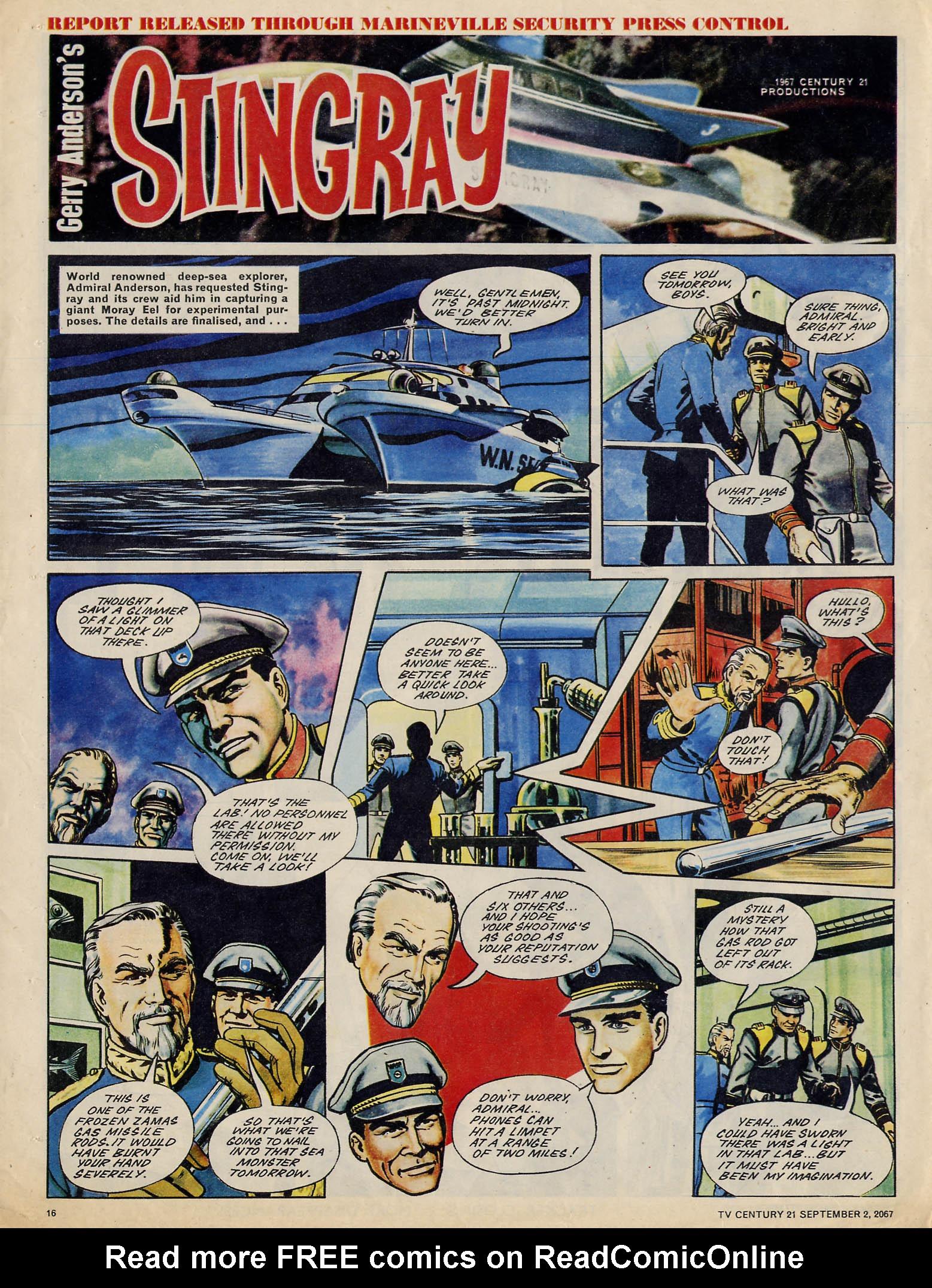Read online TV Century 21 (TV 21) comic -  Issue #137 - 15