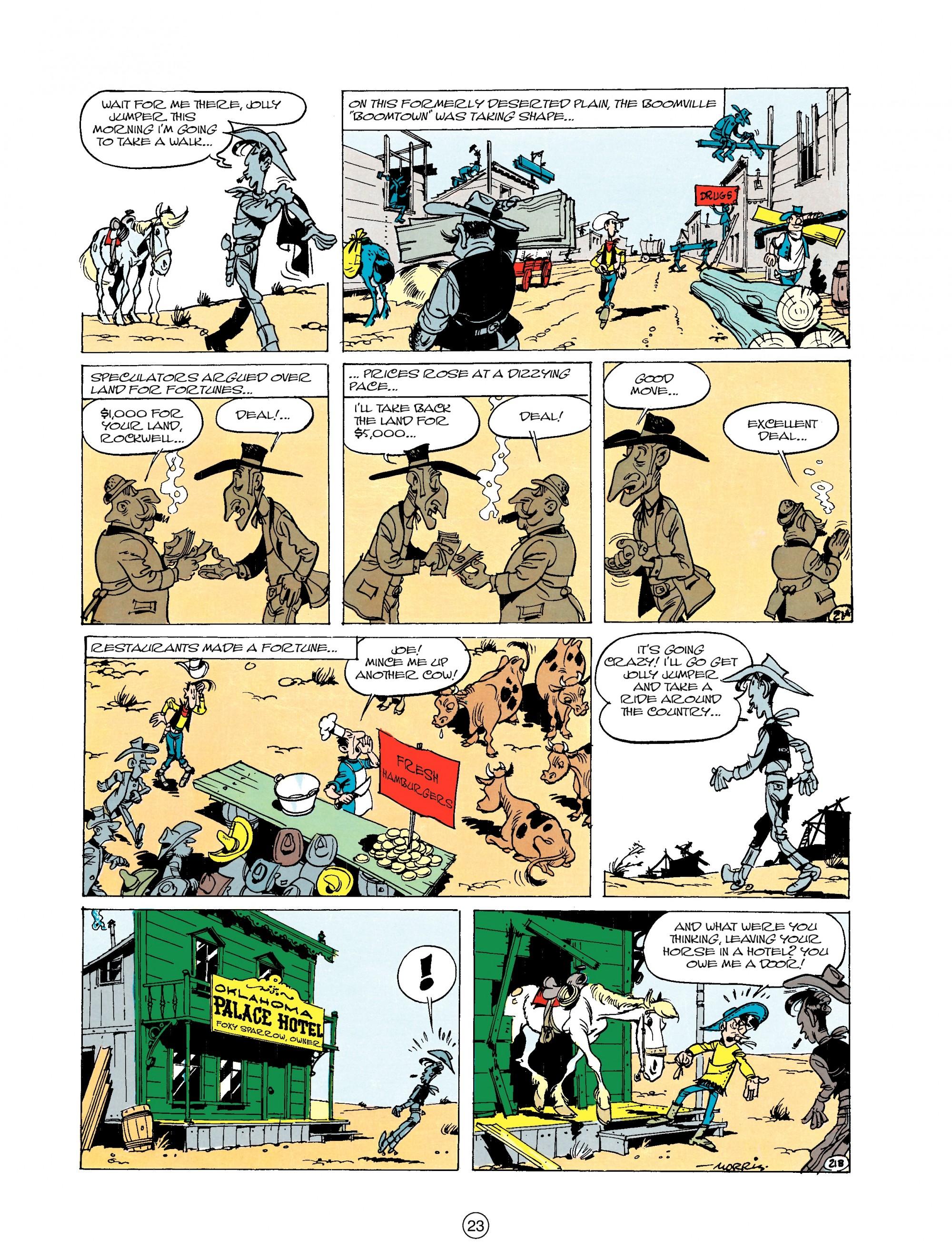 Read online A Lucky Luke Adventure comic -  Issue #20 - 23