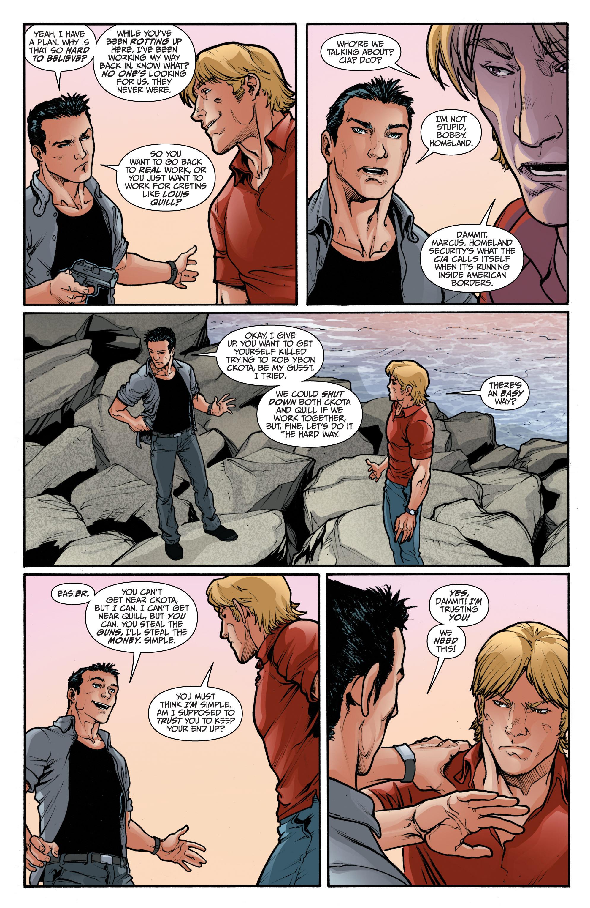 Read online 3 Guns comic -  Issue #2 - 8