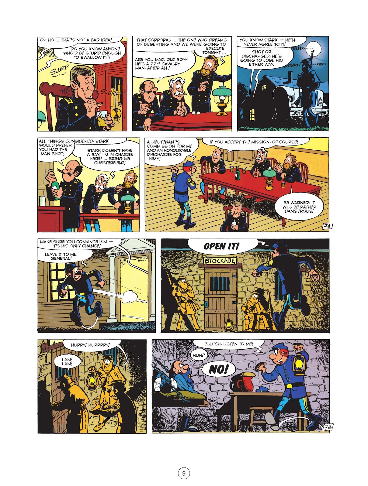 Read online The Bluecoats comic -  Issue #12 - 11