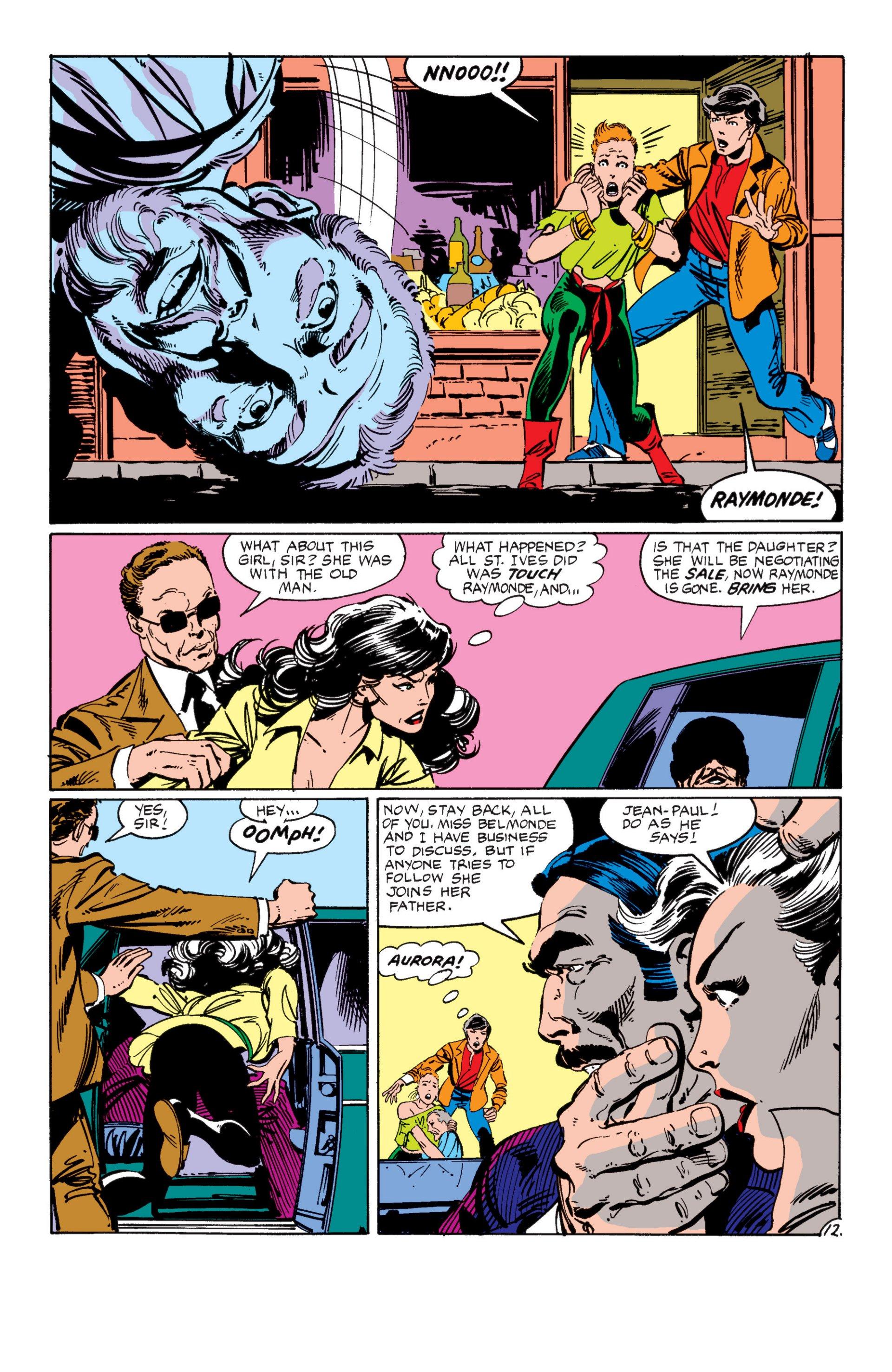 Read online Alpha Flight (1983) comic -  Issue #7 - 13