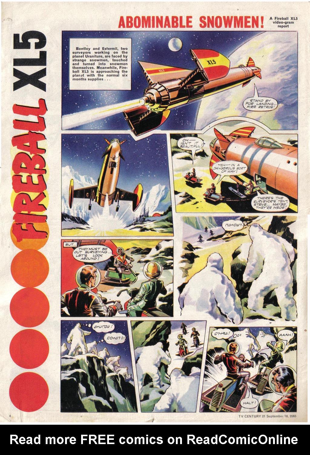 Read online TV Century 21 (TV 21) comic -  Issue #35 - 4