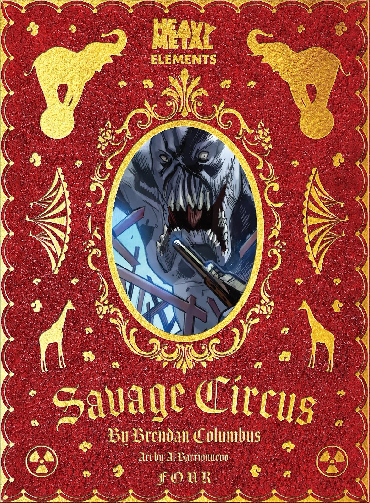 Savage Circus 4 Page 1