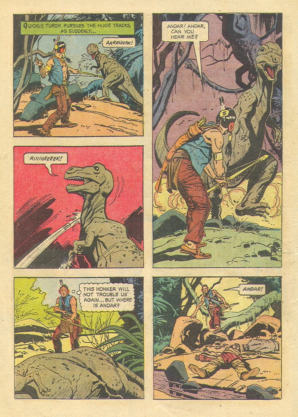 Read online Turok, Son of Stone comic -  Issue #35 - 4