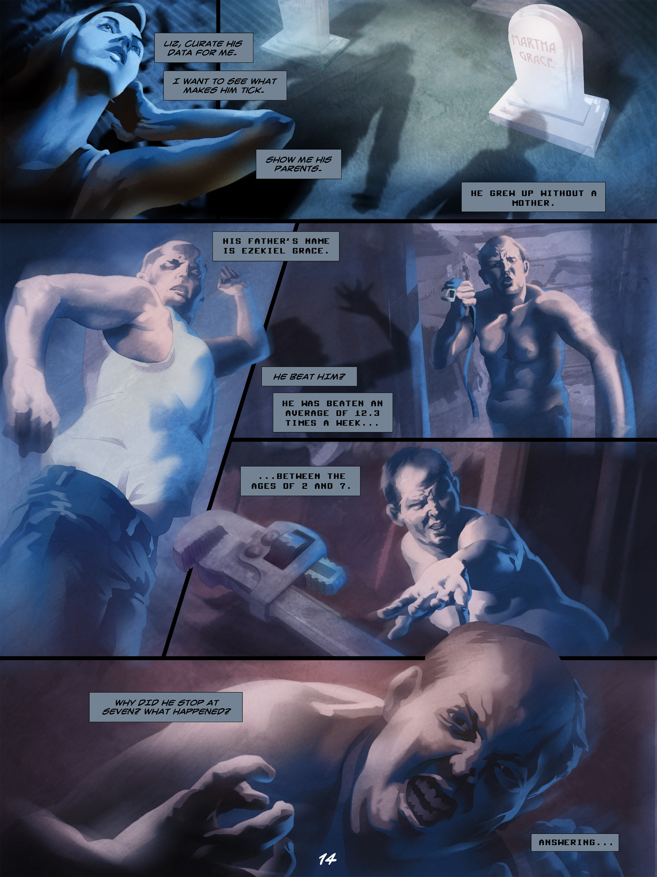 Read online Wynter comic -  Issue #5 - 15