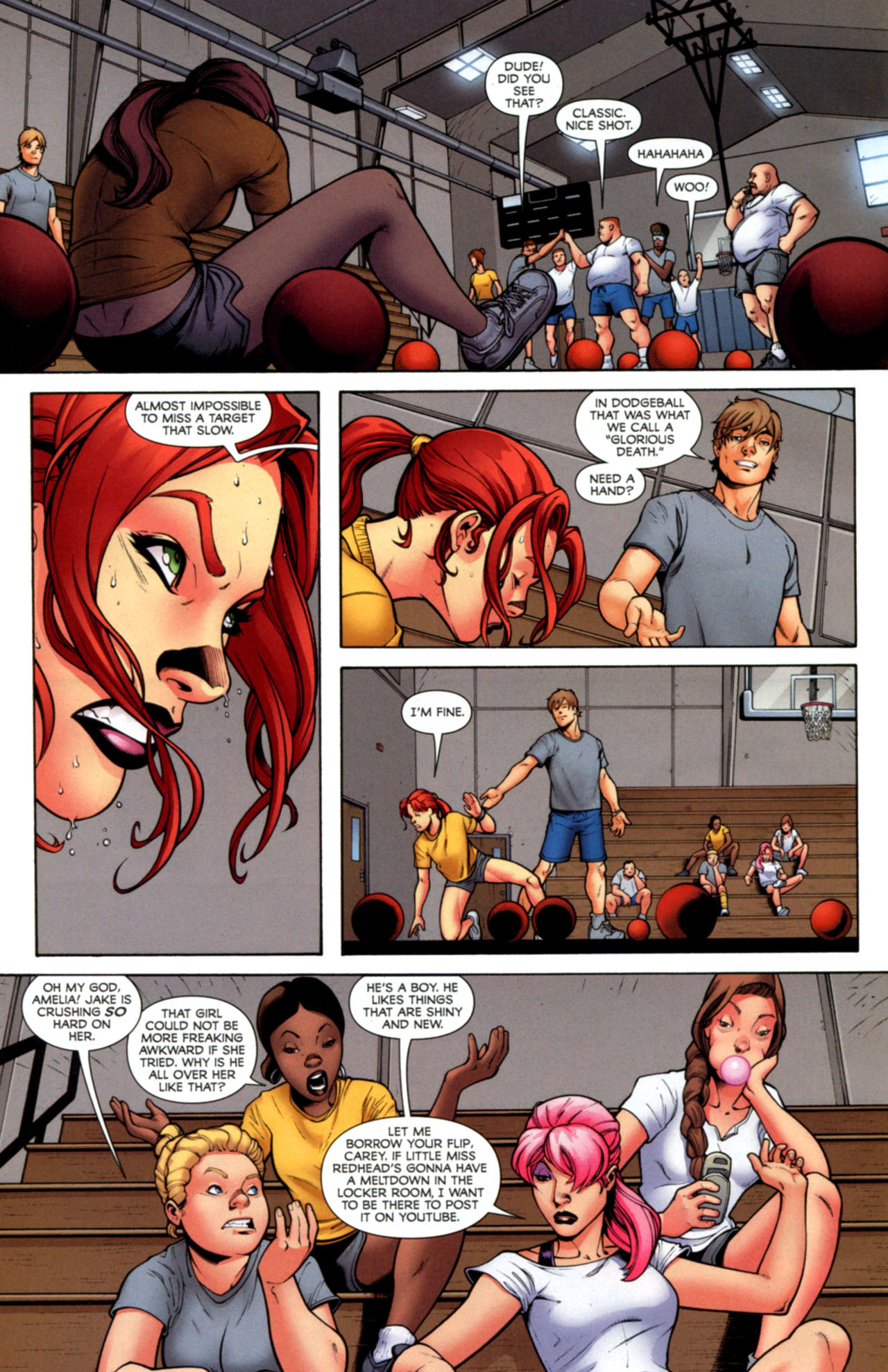 Read online She-Hulks comic -  Issue #2 - 12