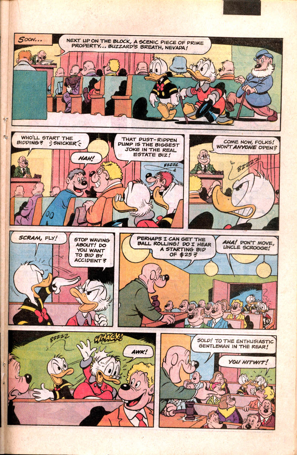 Read online Uncle Scrooge (1953) comic -  Issue #231 - 22