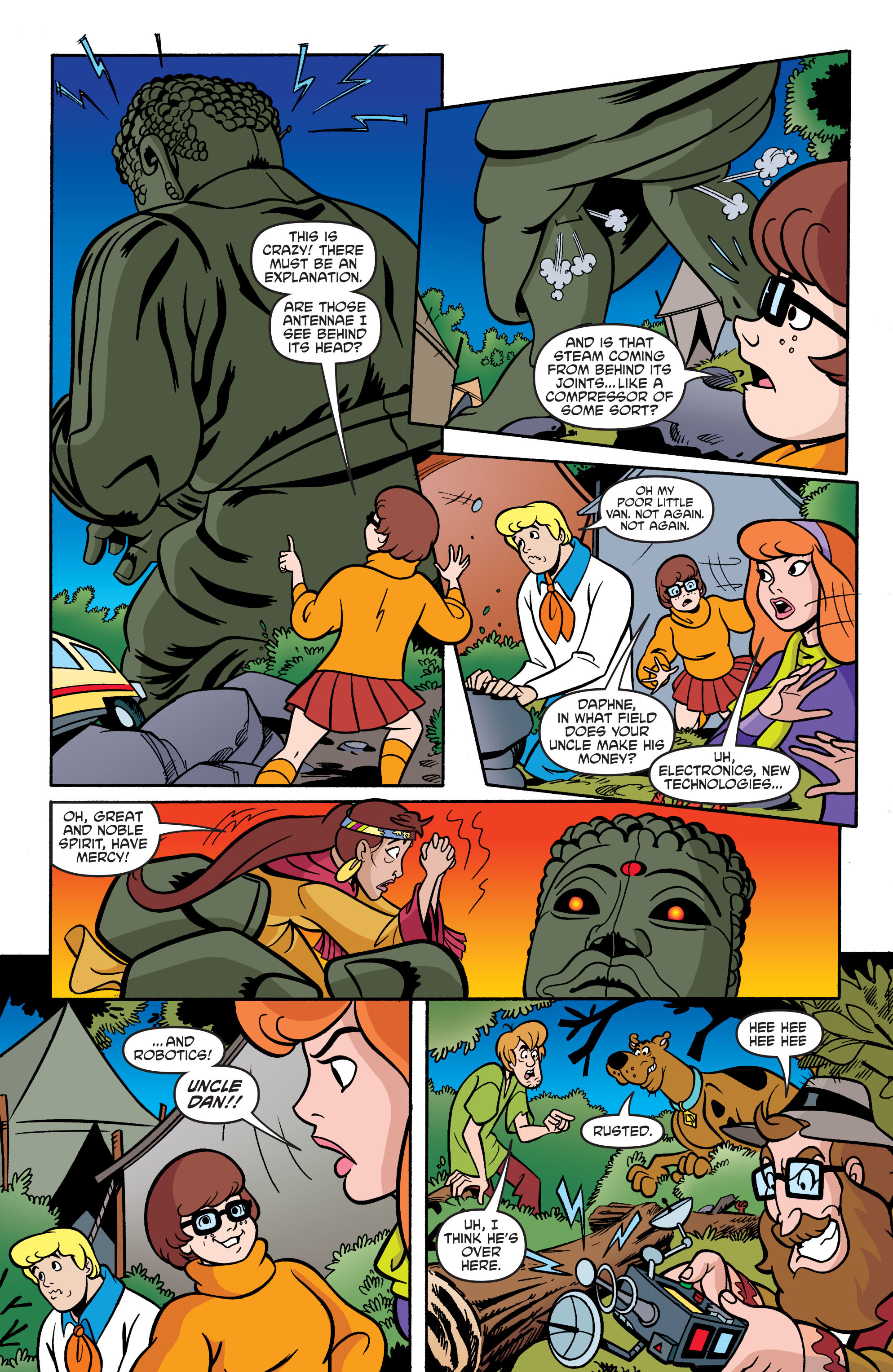 Read online Scooby-Doo: Where Are You? comic -  Issue #74 - 19