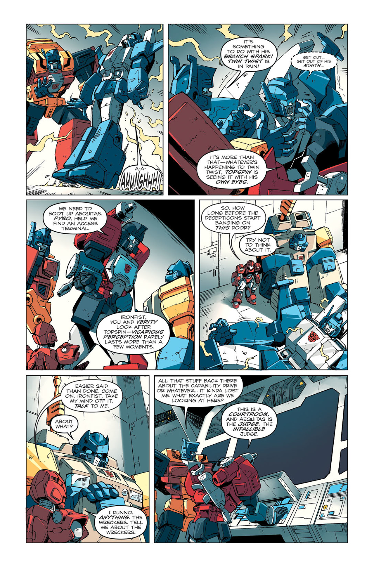 Read online Transformers: Last Stand of The Wreckers comic -  Issue #4 - 9