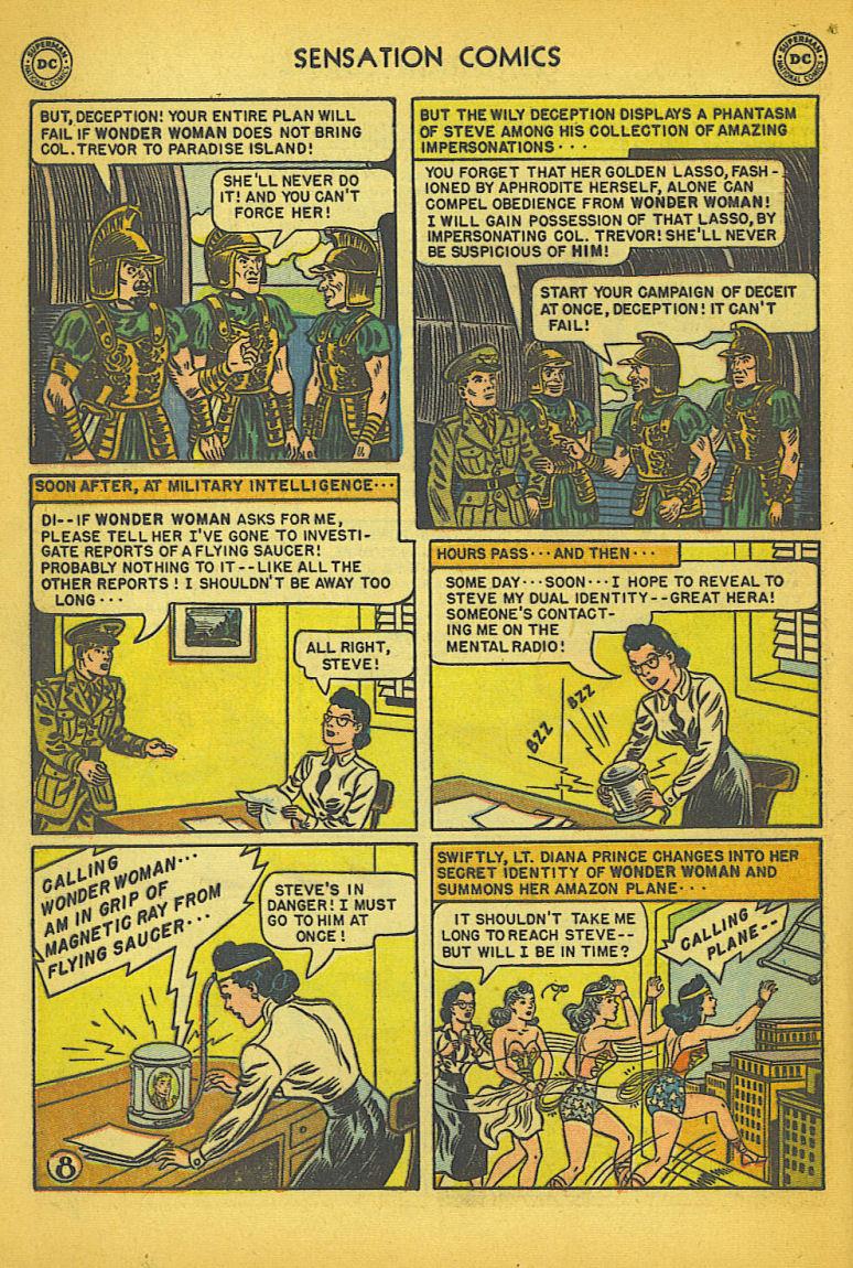 Read online Sensation (Mystery) Comics comic -  Issue #104 - 10