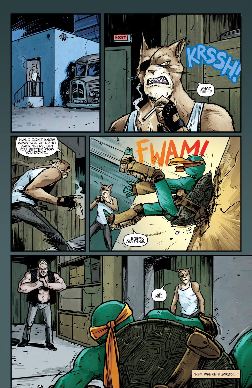 Read online Teenage Mutant Ninja Turtles: The IDW Collection comic -  Issue # TPB 7 (Part 1) - 80