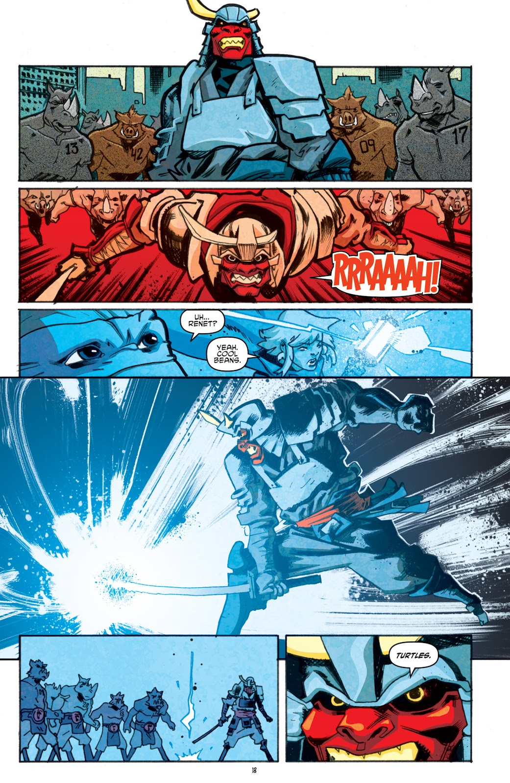 Read online Teenage Mutant Ninja Turtles: The IDW Collection comic -  Issue # TPB 5 (Part 1) - 93