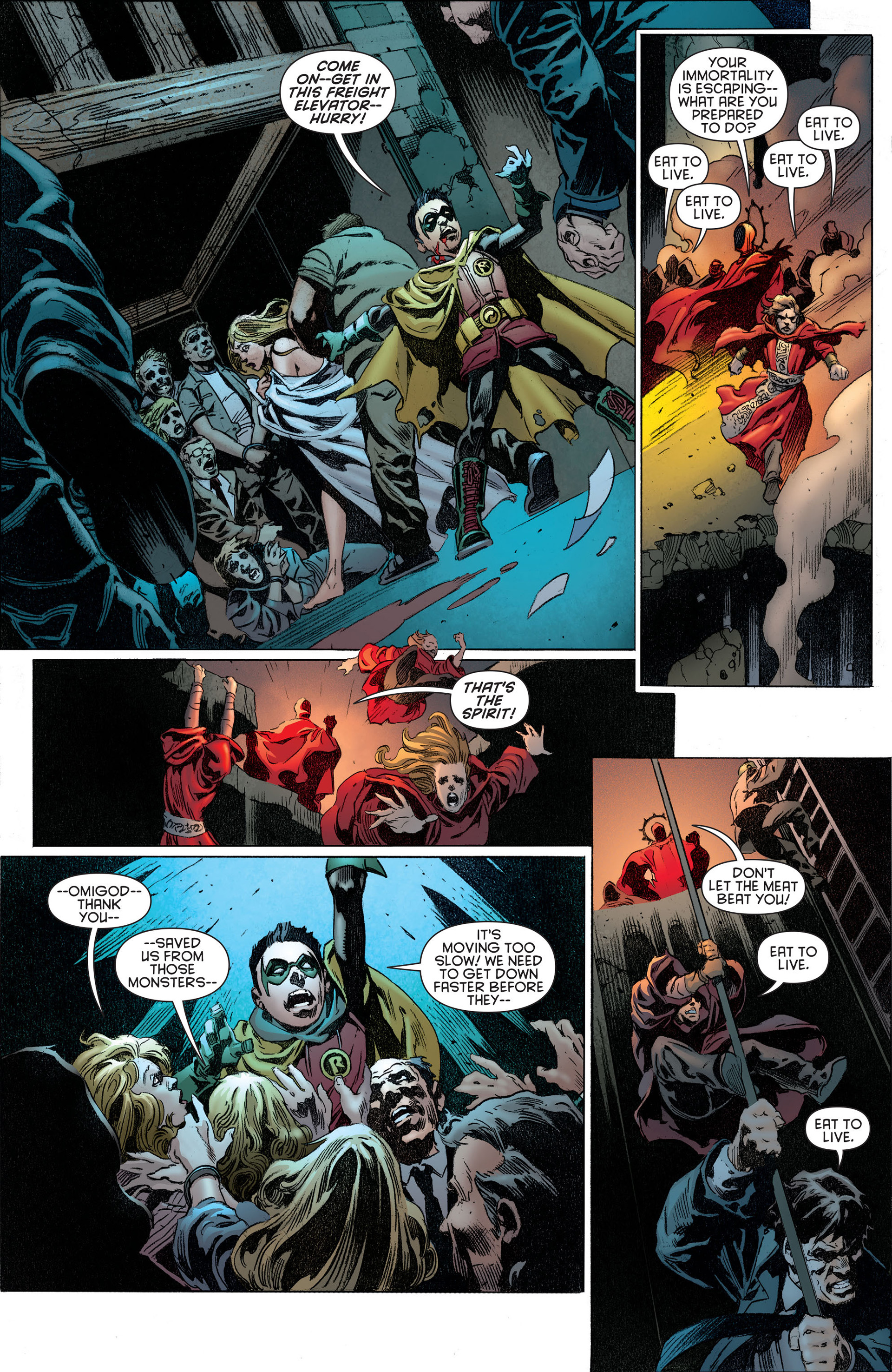 Read online Batman and Robin (2011) comic -  Issue #14 - 10