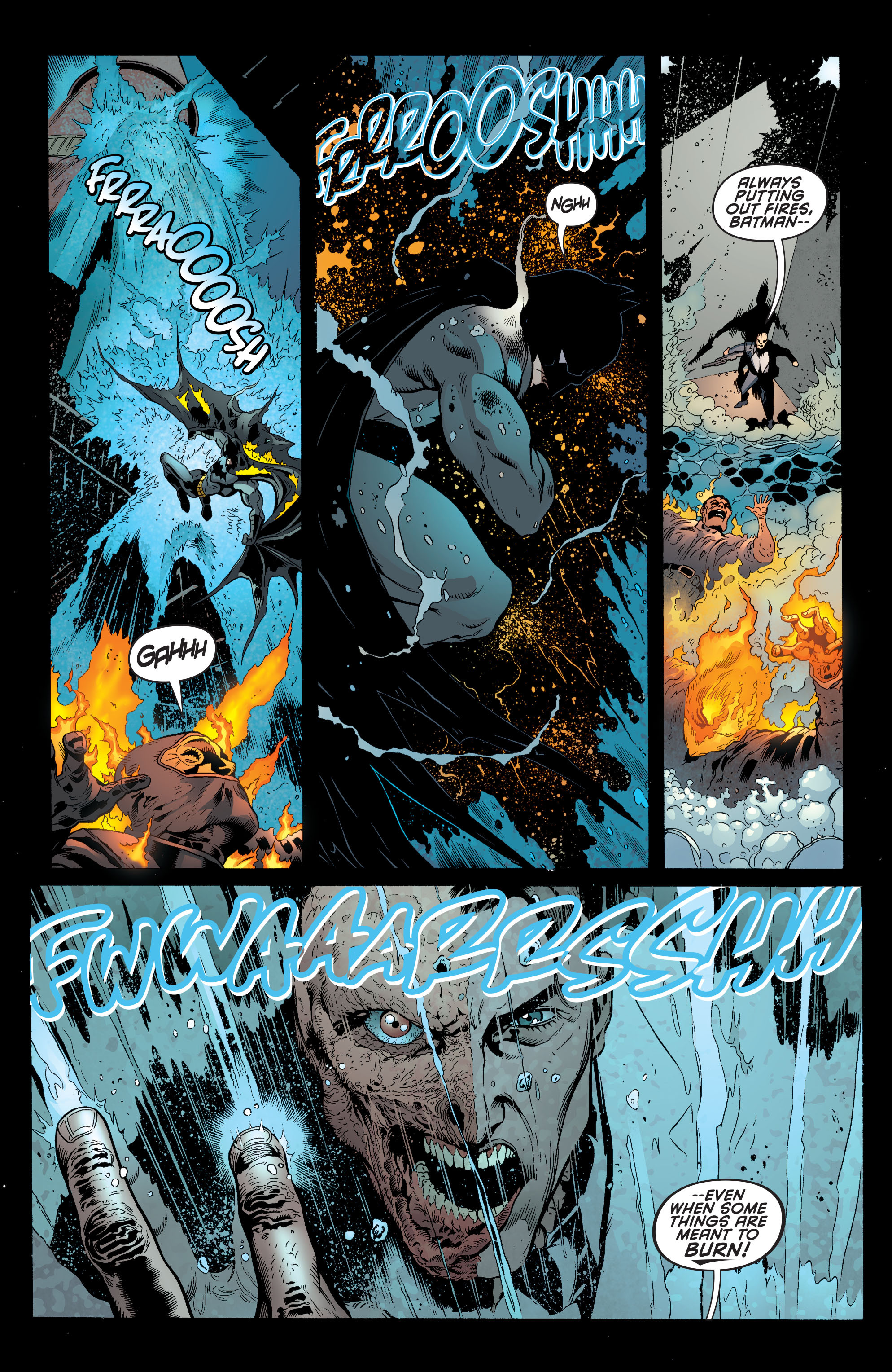 Read online Batman and Robin (2011) comic -  Issue #28 - Batman and Two-Face - 10