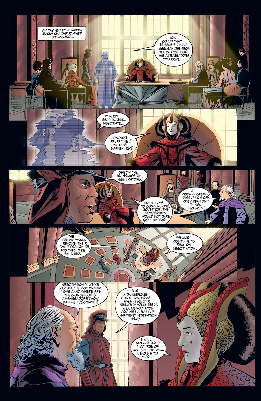 Read online Star Wars Legends: Rise of the Sith - Epic Collection comic -  Issue # TPB 2 (Part 3) - 47