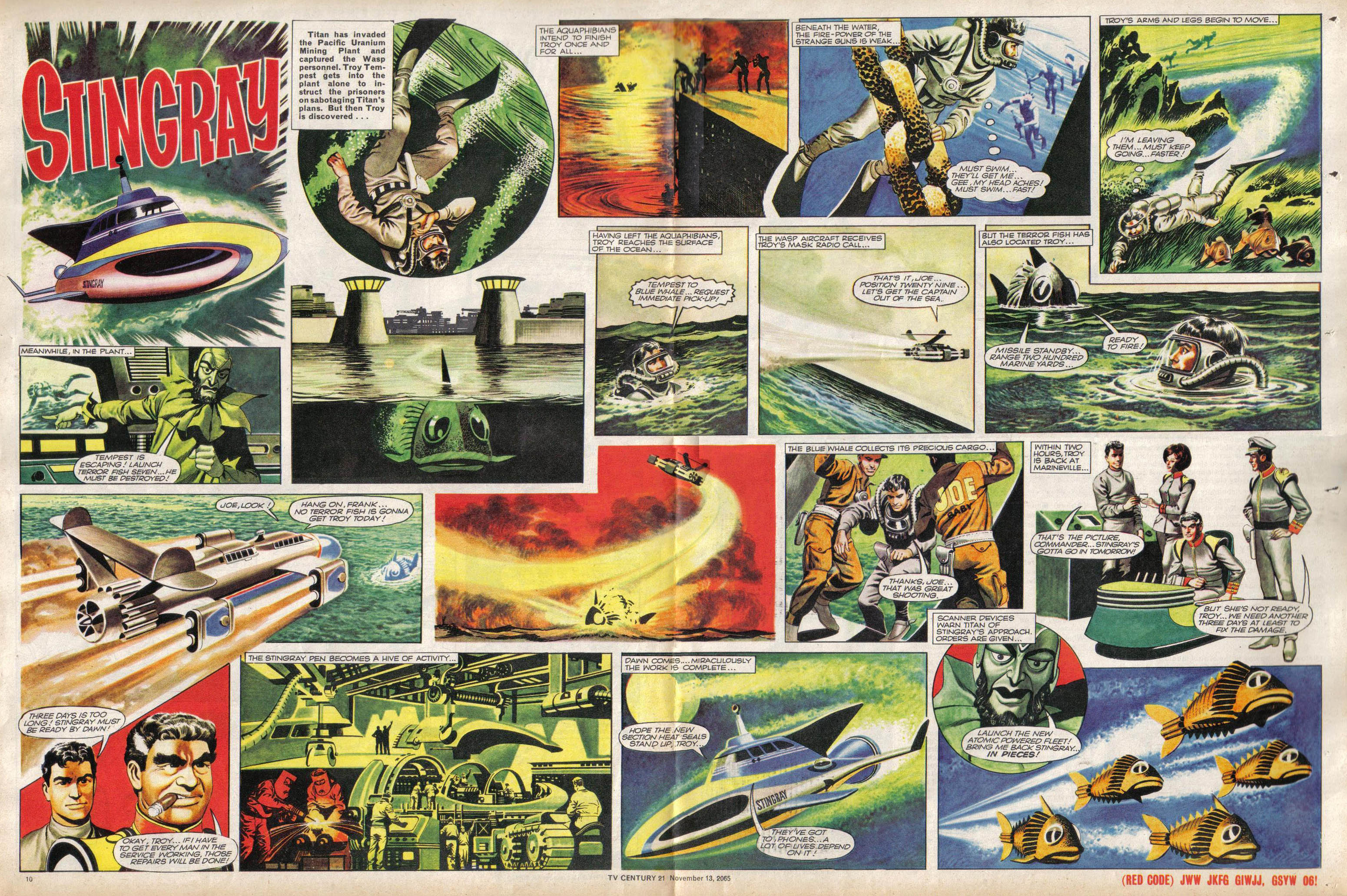 Read online TV Century 21 (TV 21) comic -  Issue #43 - 10