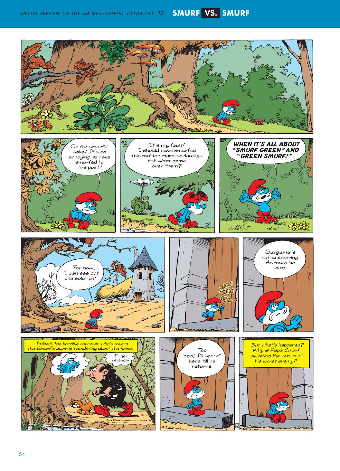 Read online The Smurfs comic -  Issue #11 - 54