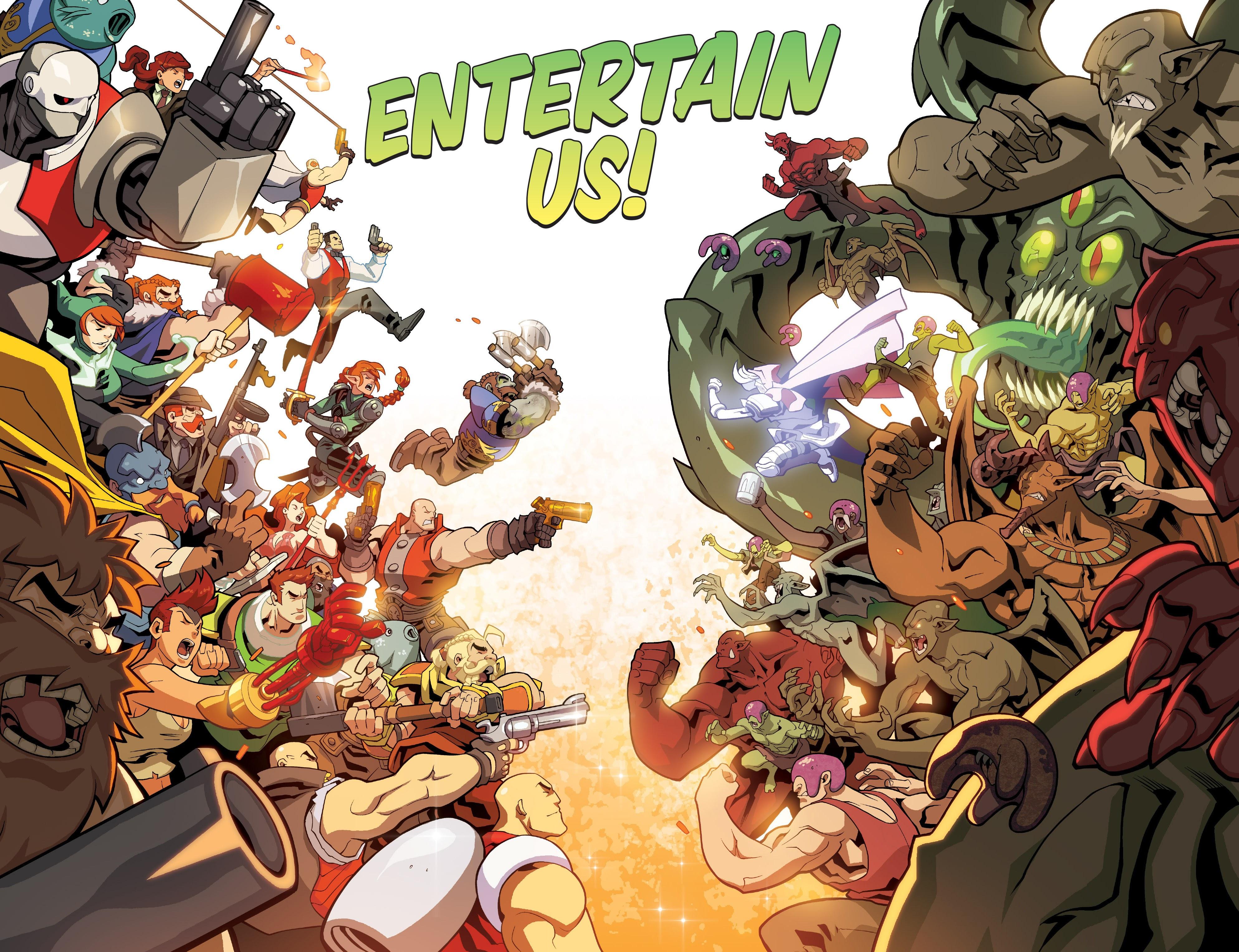 Read online Skullkickers comic -  Issue #100 - 16