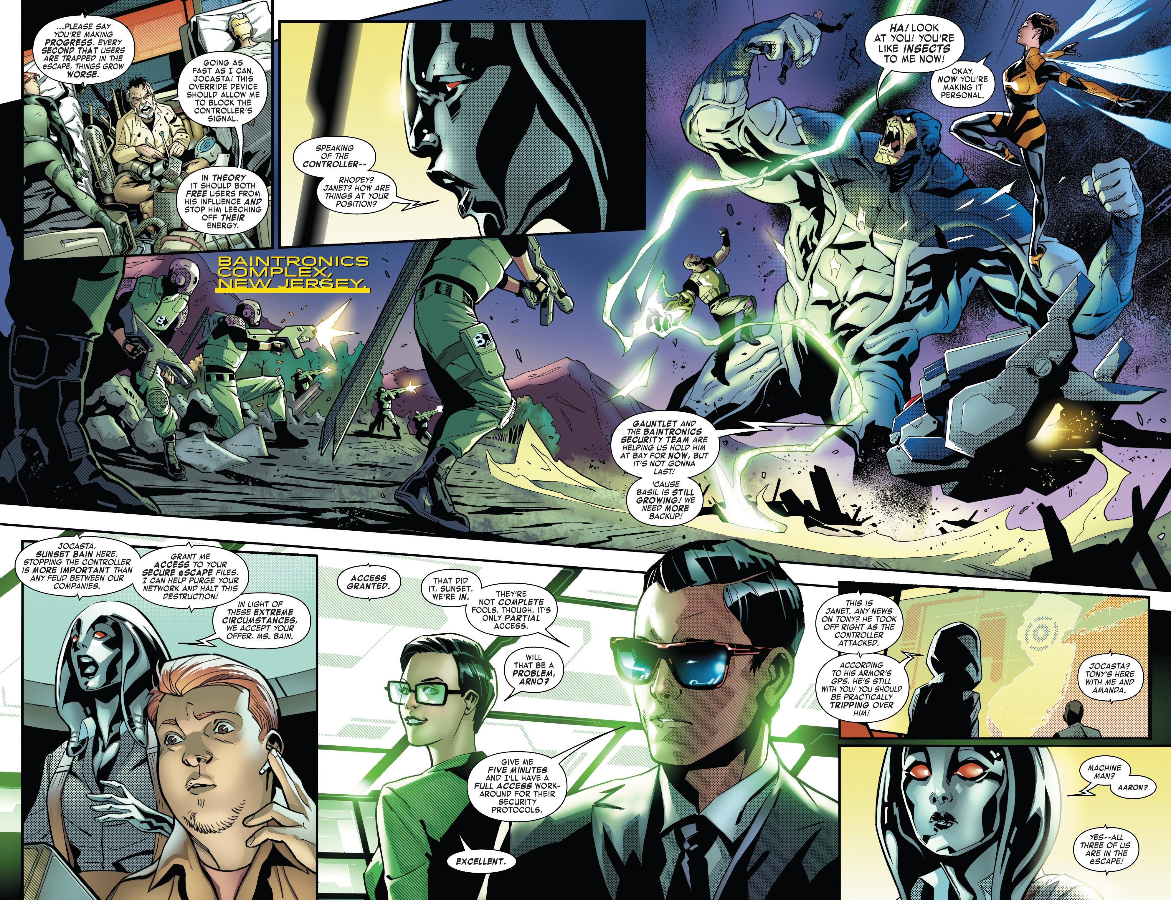 Read online Tony Stark: Iron Man comic -  Issue #10 - 5