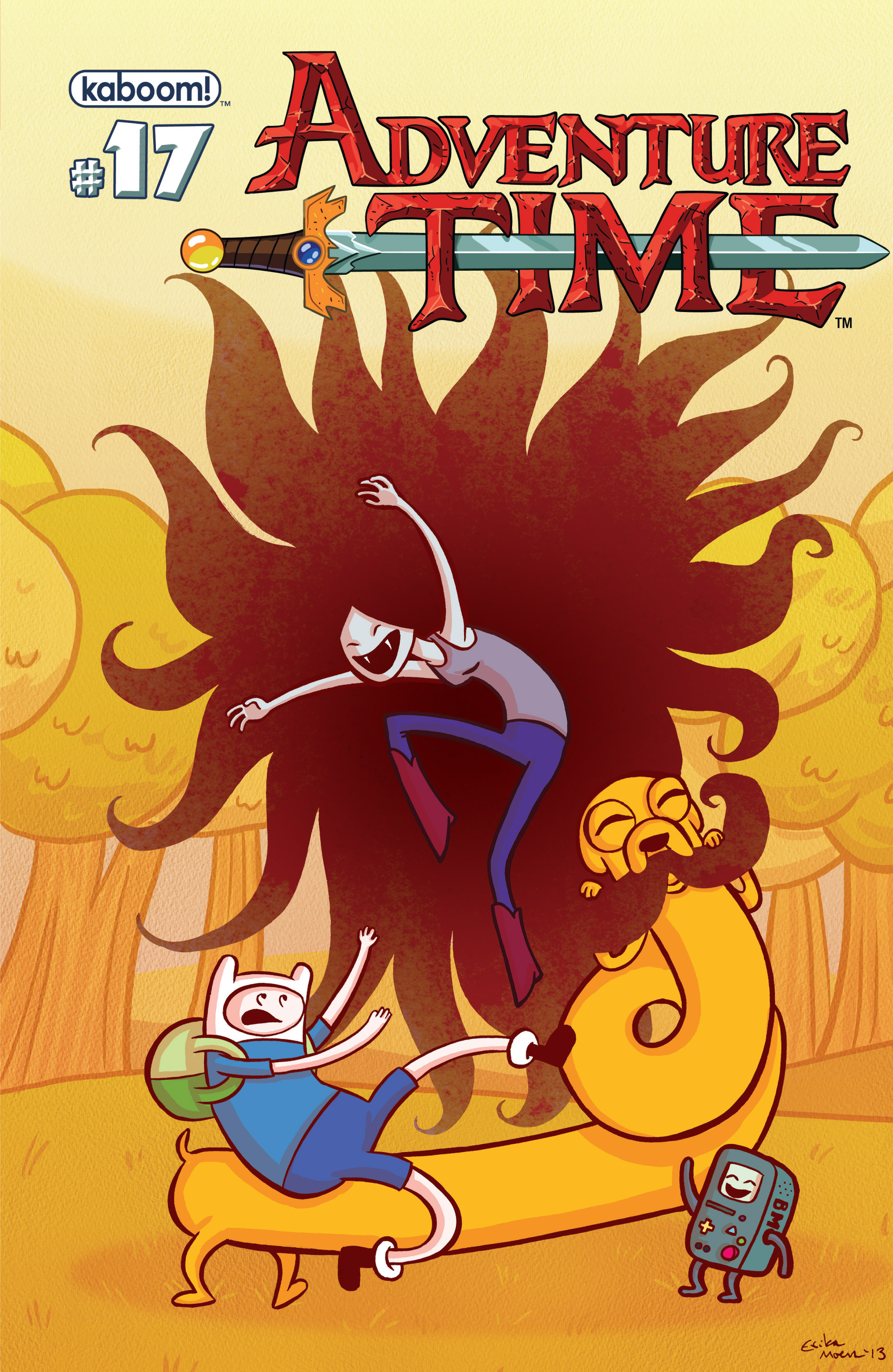 Read online Adventure Time comic -  Issue #17 - 2