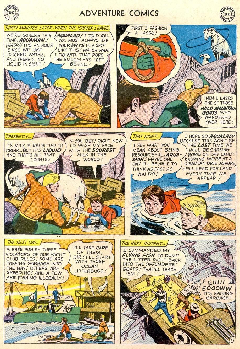 Read online Adventure Comics (1938) comic -  Issue #282 - 27