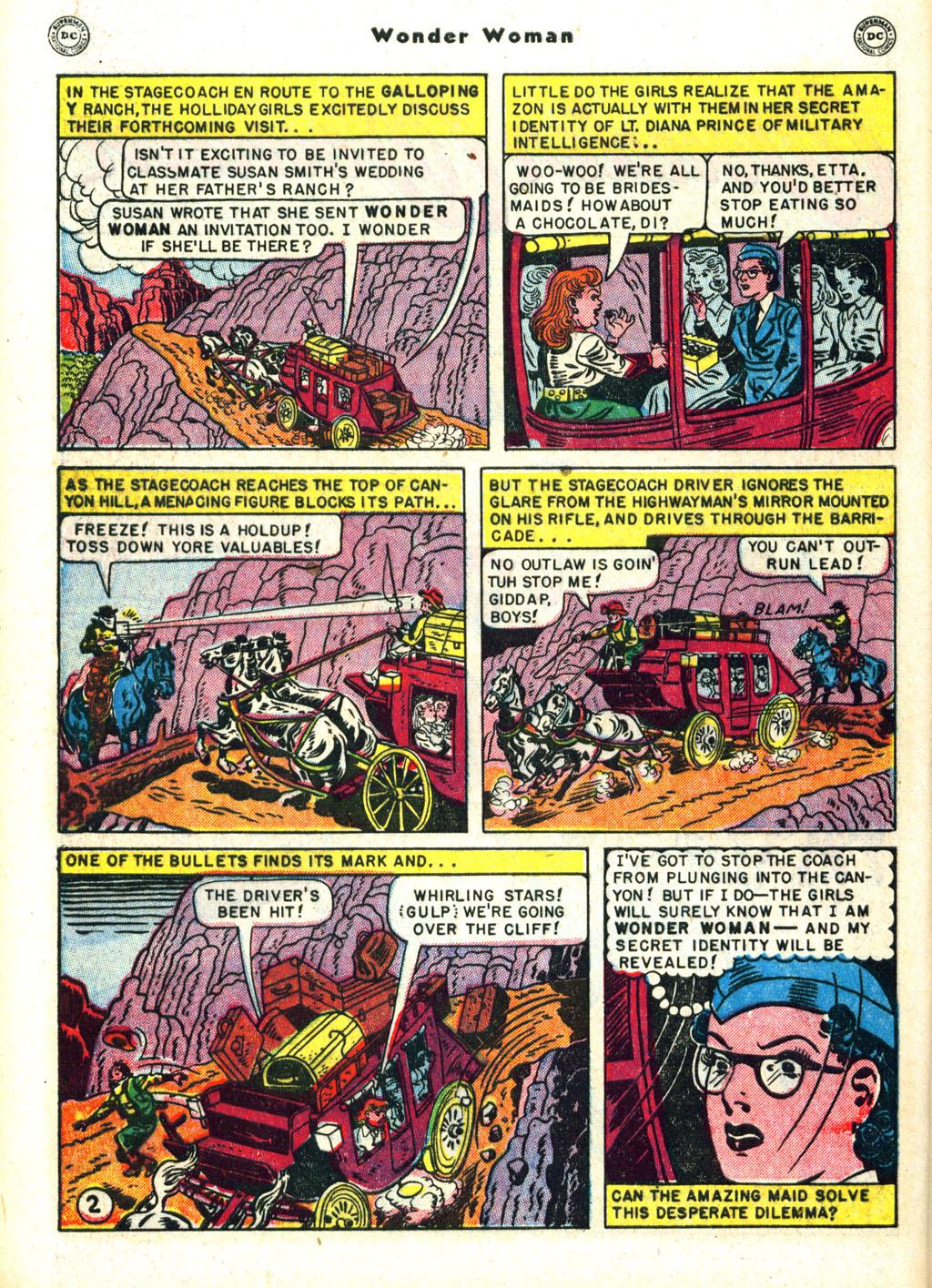 Read online Wonder Woman (1942) comic -  Issue #45 - 40