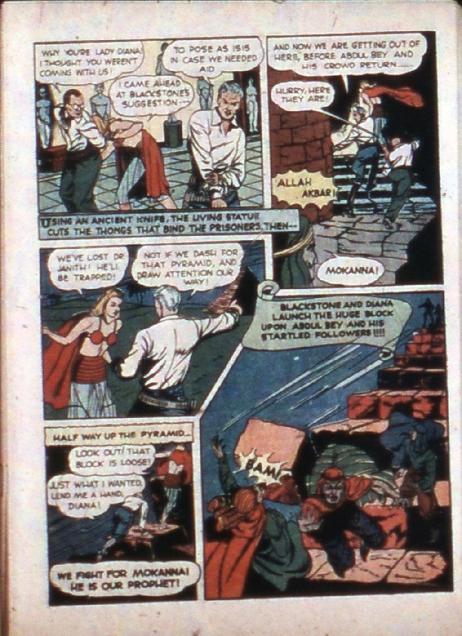 Read online Super-Magician Comics comic -  Issue #3 - 9
