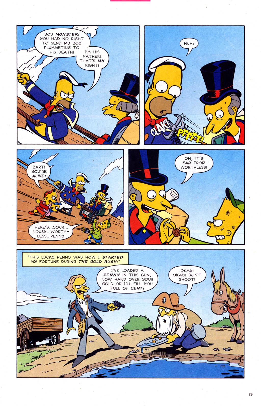 Read online Simpsons Comics comic -  Issue #102 - 14