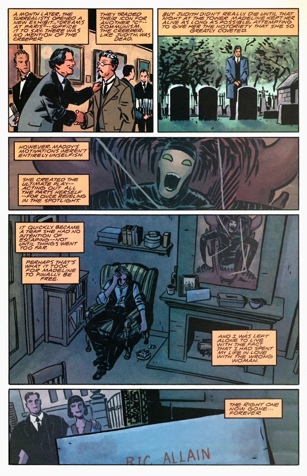 Read online Beware The Creeper (2003) comic -  Issue #5 - 22