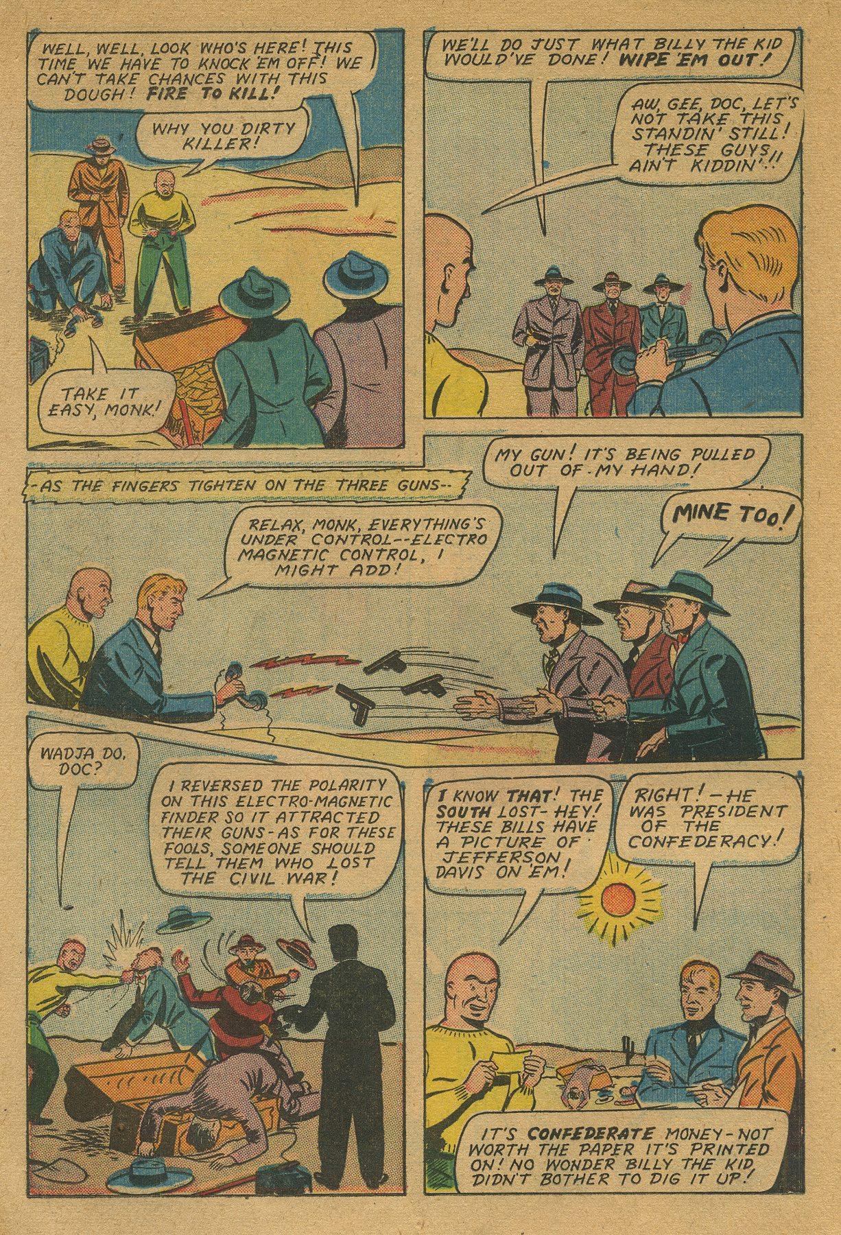 Read online Shadow Comics comic -  Issue #49 - 24