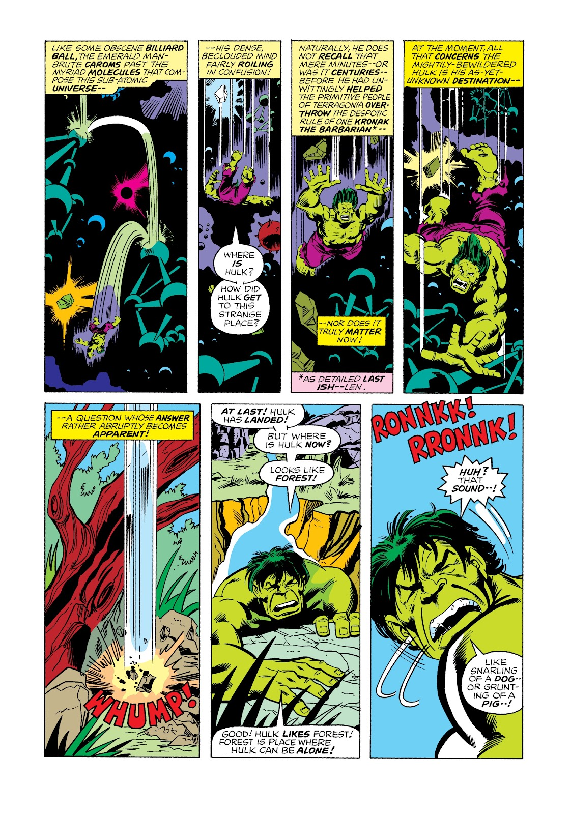 Read online Marvel Masterworks: The Incredible Hulk comic -  Issue # TPB 12 (Part 2) - 39
