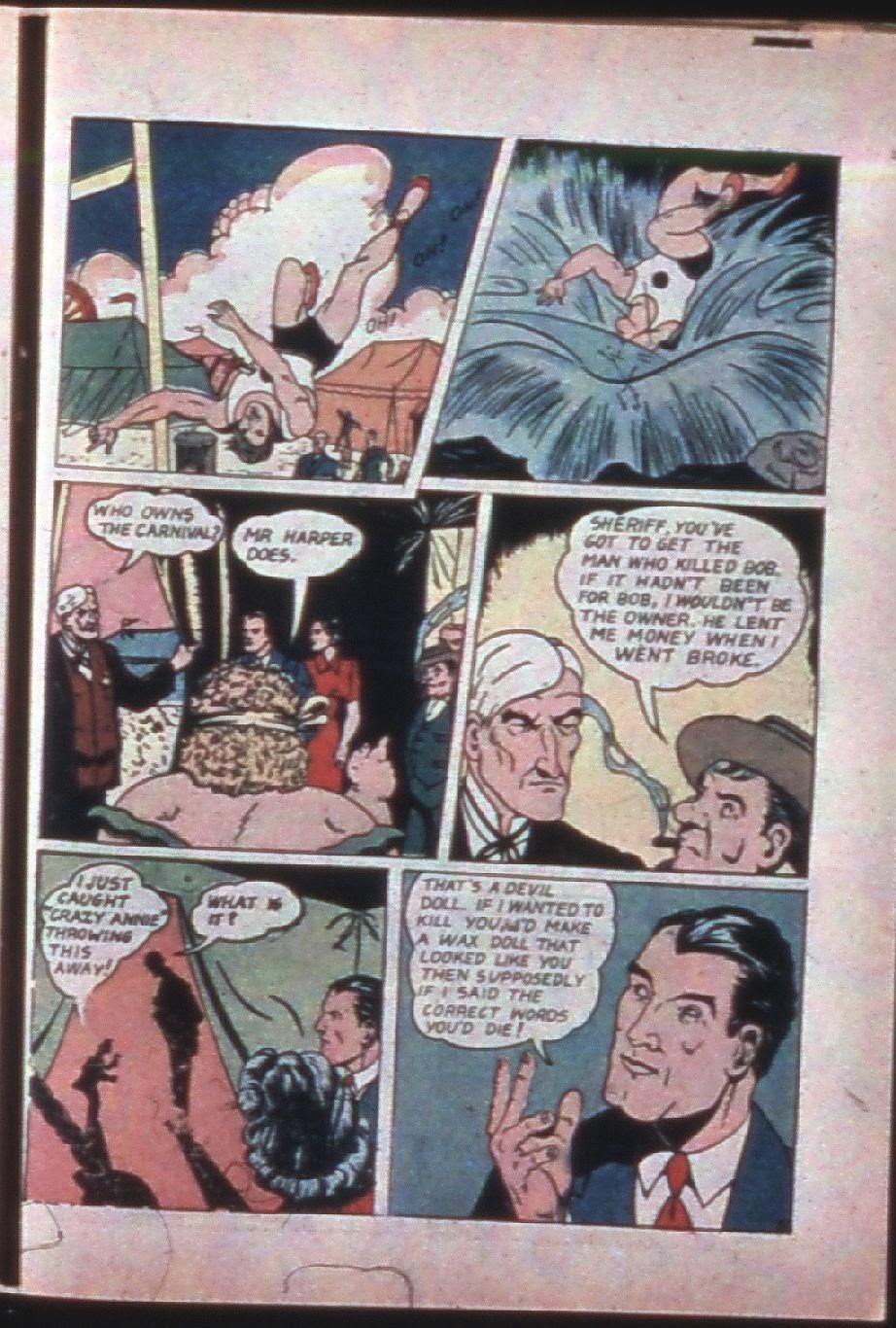 Read online Super-Magician Comics comic -  Issue #7 - 52