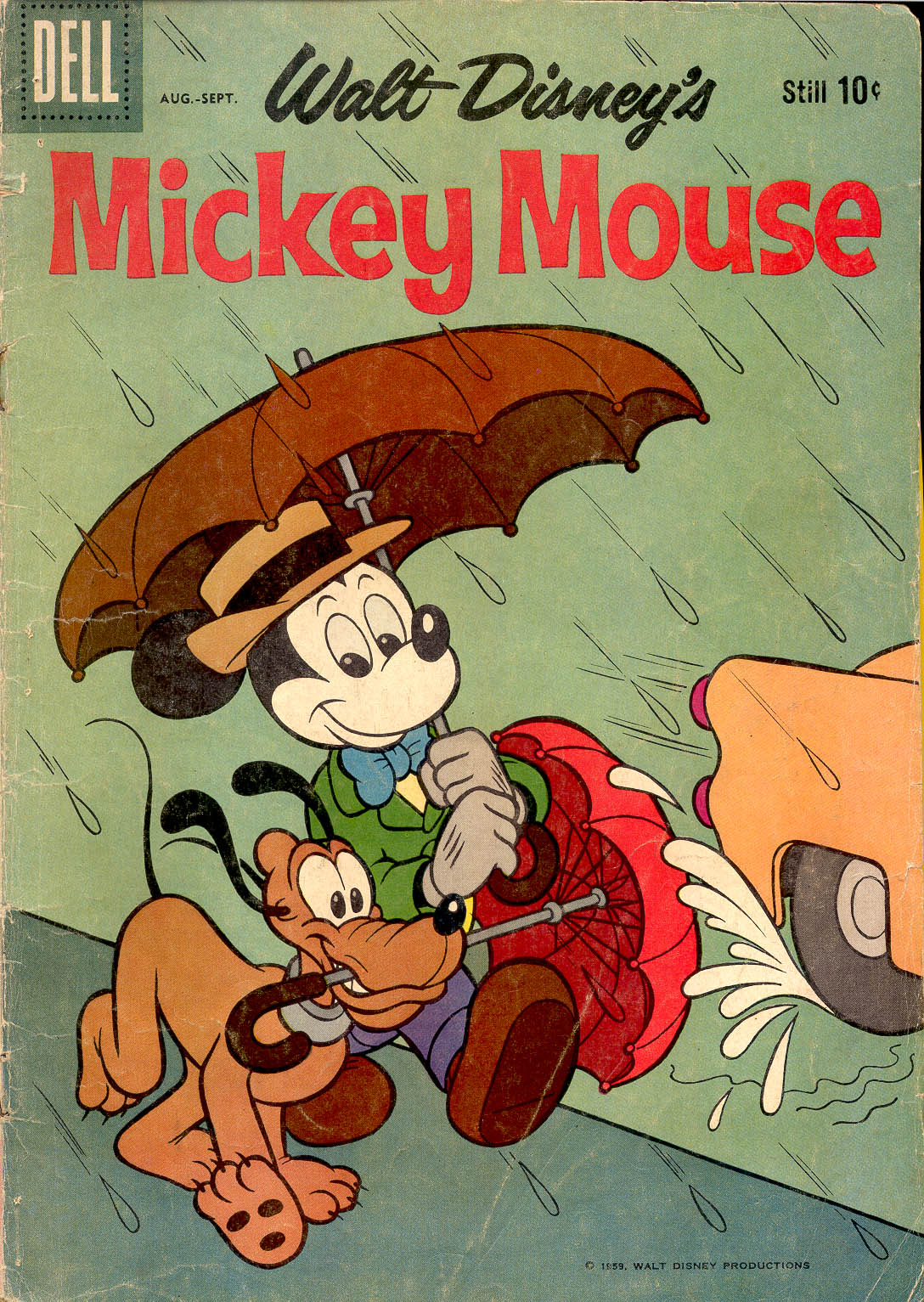 Walt Disney's Mickey Mouse issue 67 - Page 1