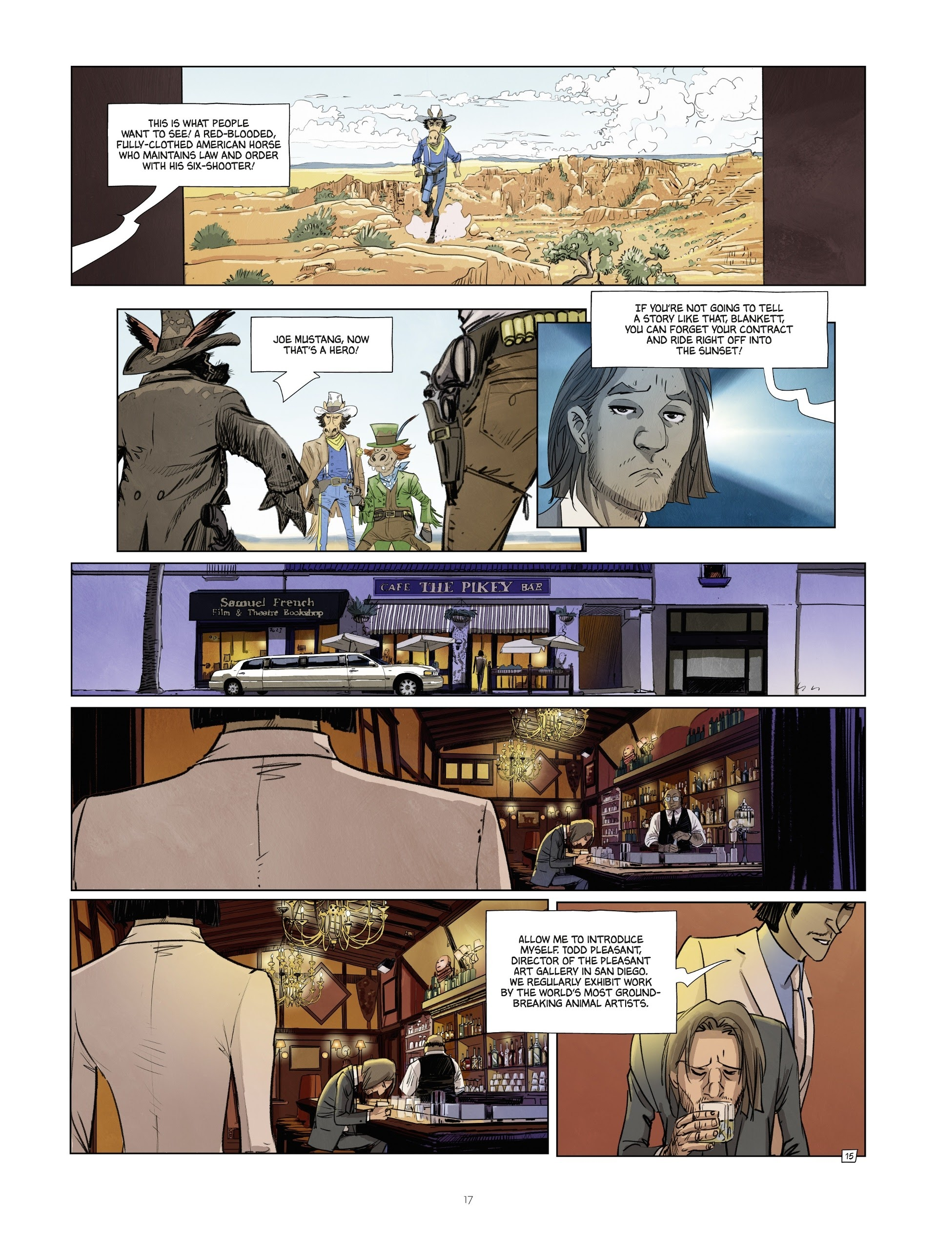 Read online Jack Wolfgang comic -  Issue #3 - 19