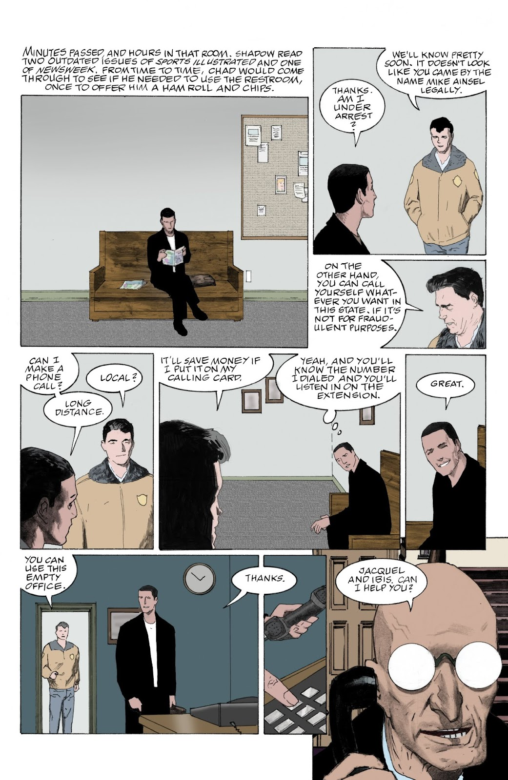 American Gods: My Ainsel issue 9 - Page 4