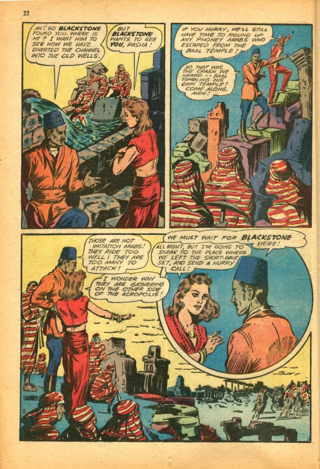 Read online Super-Magician Comics comic -  Issue #12 - 22