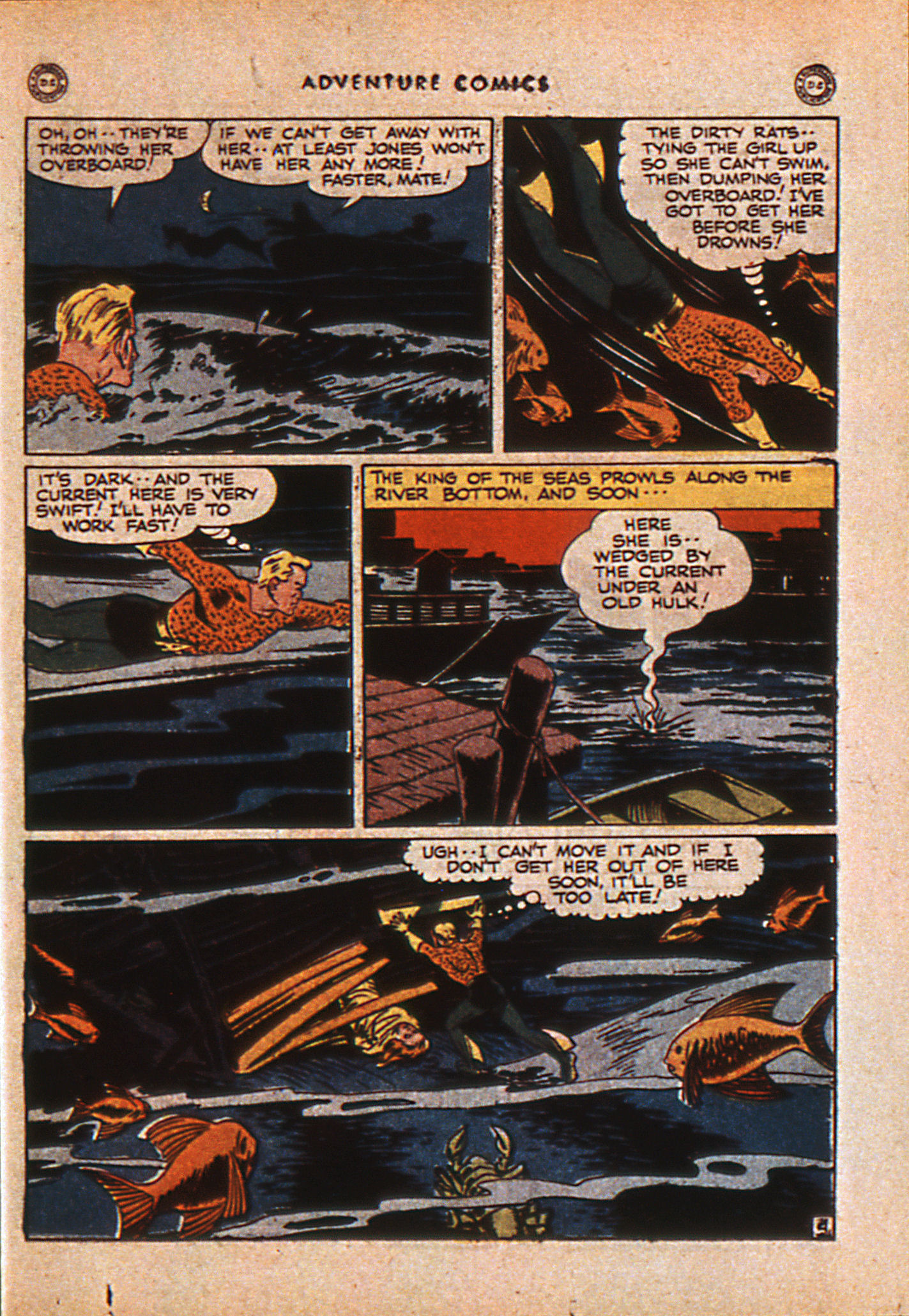 Read online Adventure Comics (1938) comic -  Issue #110 - 36
