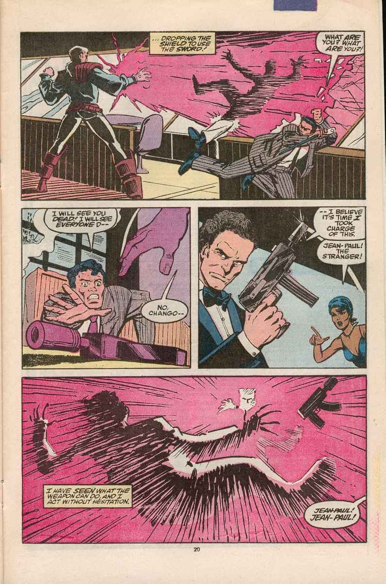 Read online Justice (1986) comic -  Issue #1 - 21