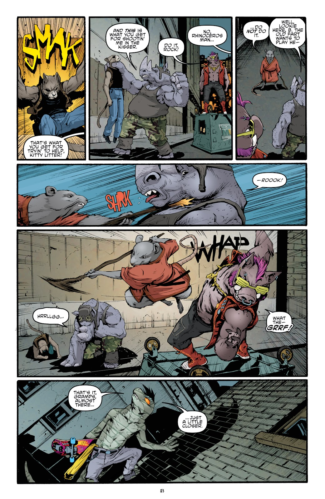 Read online Teenage Mutant Ninja Turtles: The IDW Collection comic -  Issue # TPB 5 (Part 2) - 61