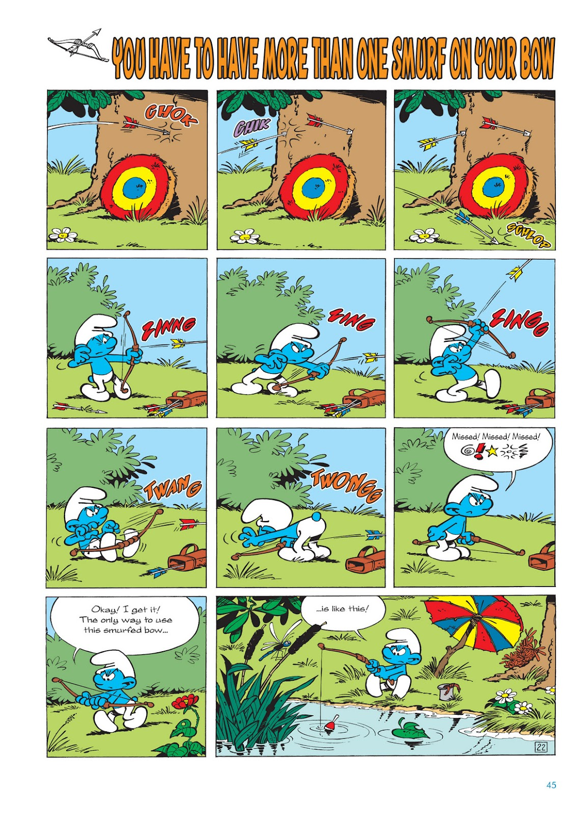 Read online The Smurfs comic -  Issue #11 - 45