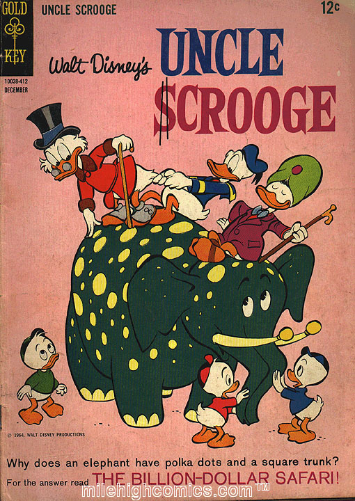 Read online Uncle Scrooge (1953) comic -  Issue #54 - 1