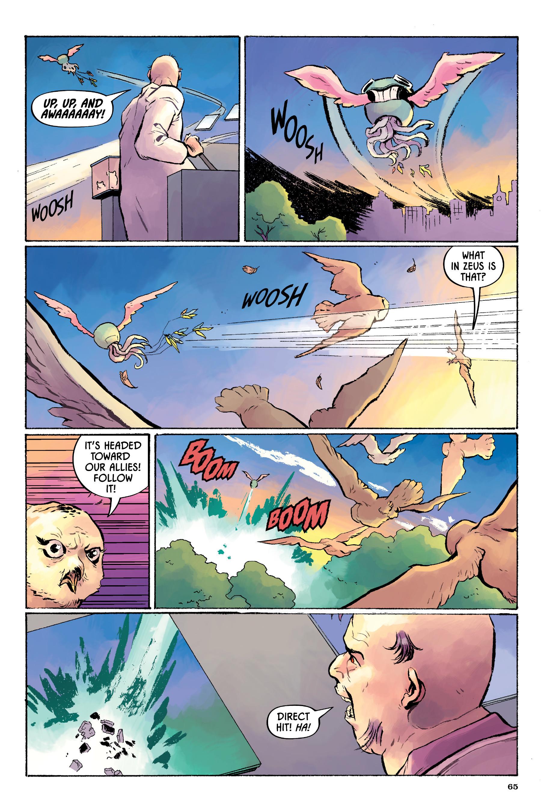 Read online Angel Catbird comic -  Issue # TPB 2 - 66