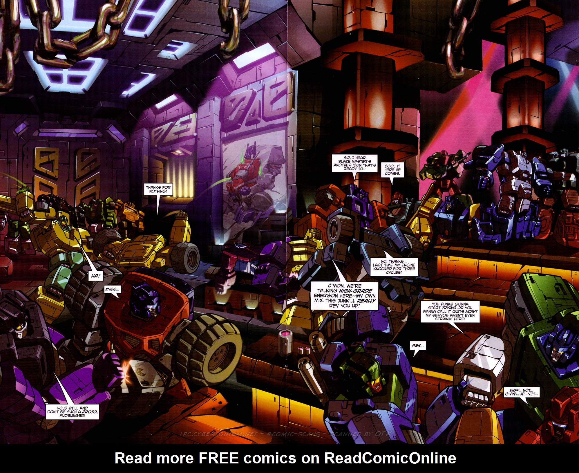 Read online Transformers: Micromasters comic -  Issue #2 - 14