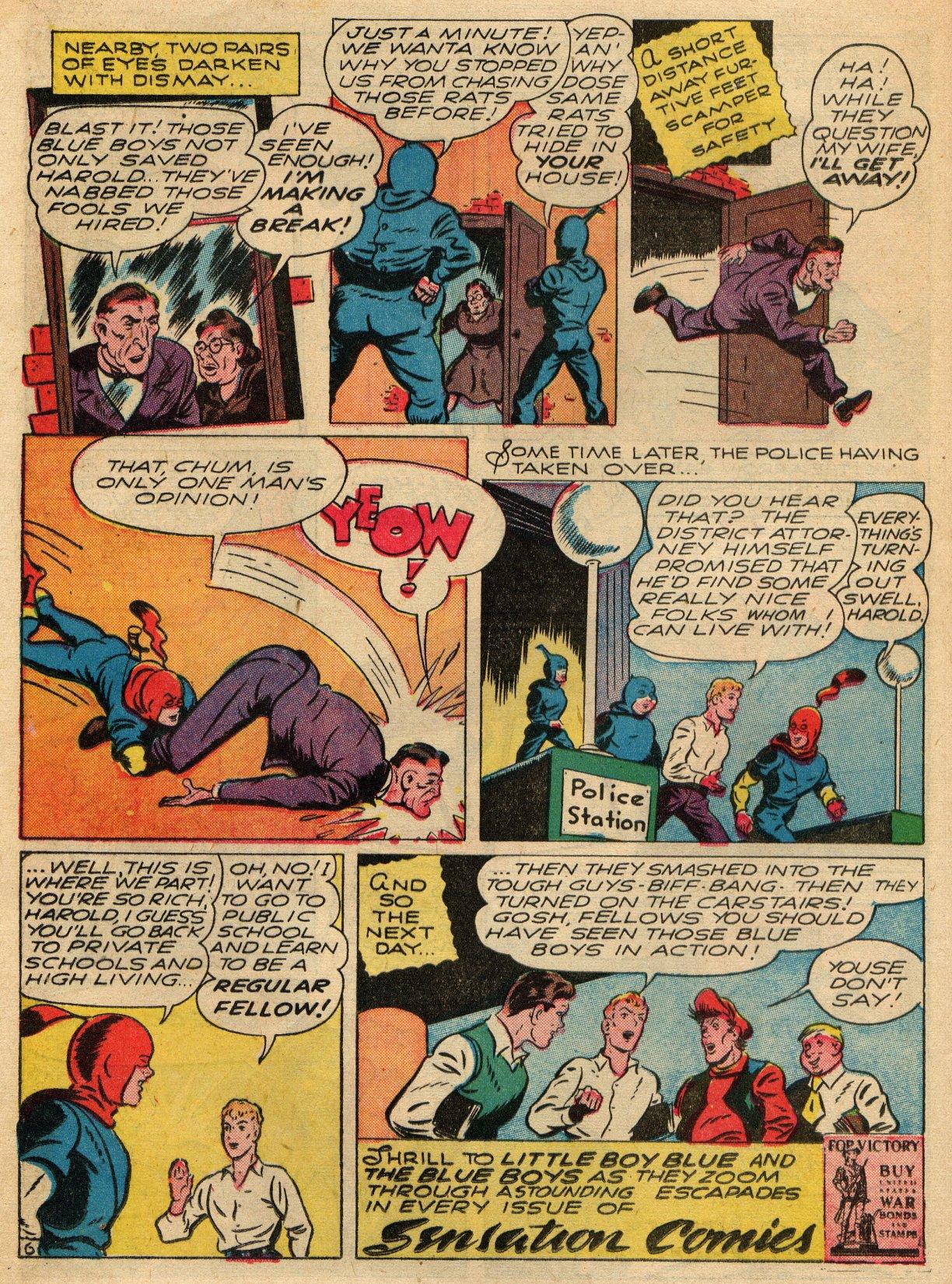 Read online Sensation (Mystery) Comics comic -  Issue #22 - 30