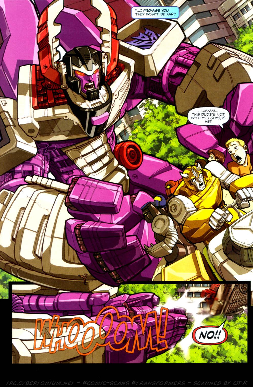 Read online Transformers Armada comic -  Issue #4 - 6