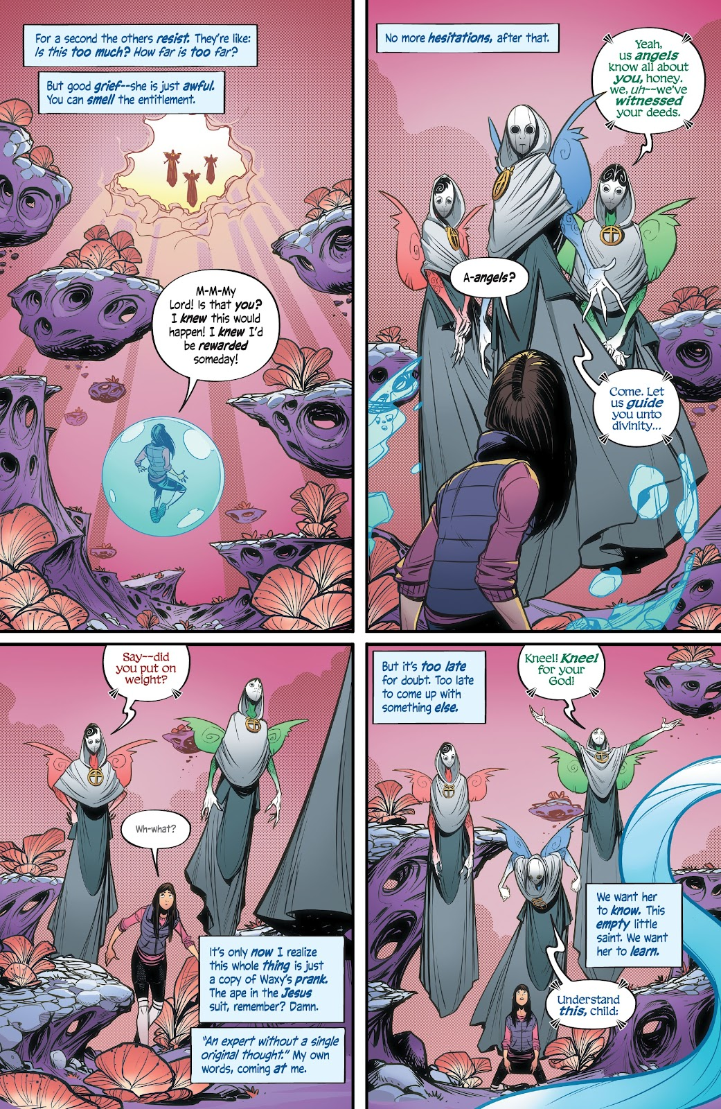 Read online Alienated comic -  Issue #2 - 18