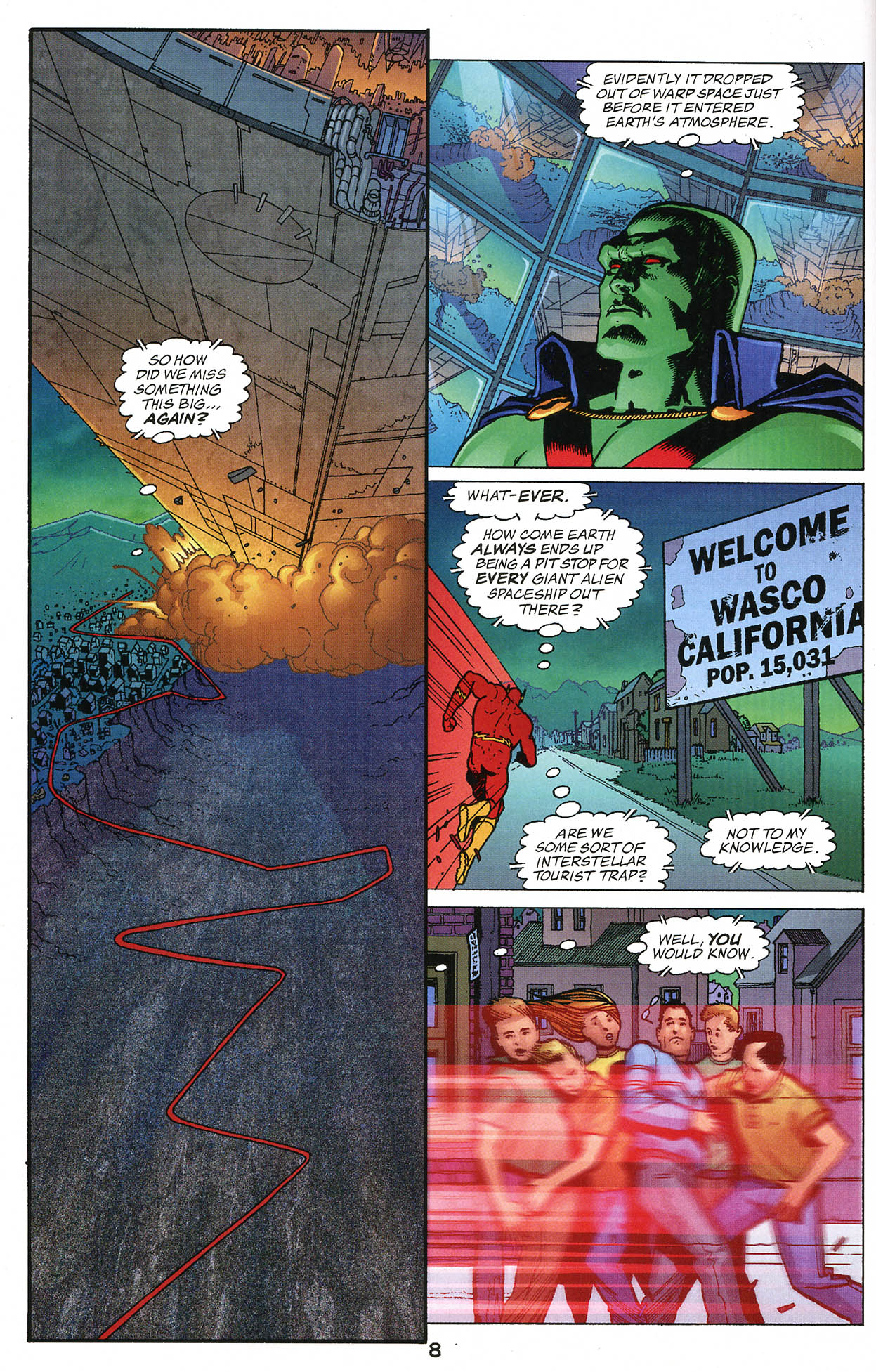 Read online JLA/Haven: Arrival comic -  Issue # Full - 8